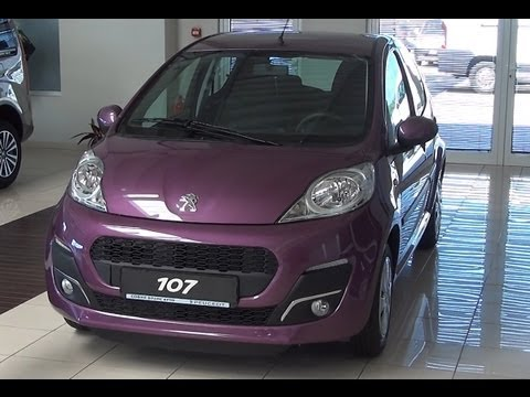 Peugeot 107 5P Active 1.0E 68 EURO 5 Exterior and Interior in Full 3D HD
