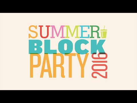 GJ Summer Block Party 2016