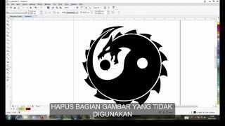 Coreldraw x7 tutorial bahasa indonesia - Video clip