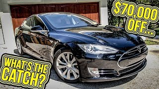 The 2013 Tesla Model S Lost $70,000 In Value Over 4 Years...Should You Get One Now?