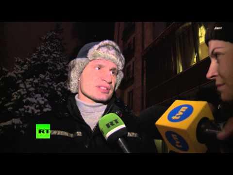 Кличко призывает к всеукраинской демонстрации
