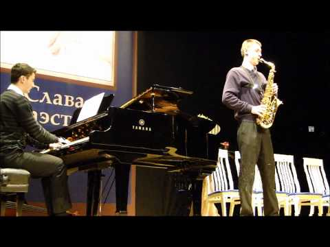 Igor Butman master-class to Nikita Zimin
