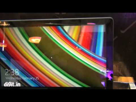 Lenovo Yoga 3 Pro First Look
