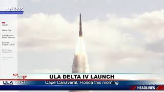 LAST OF ITS KIND LAUNCH: ULA Delta IV medium rocket lifts off one final time