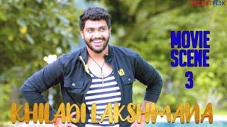Movie Scene 3 - Khiladi Lakshmana (Lakshmana) - Hindi Dubbed Movie | Anup Revanna | Meghna Raj