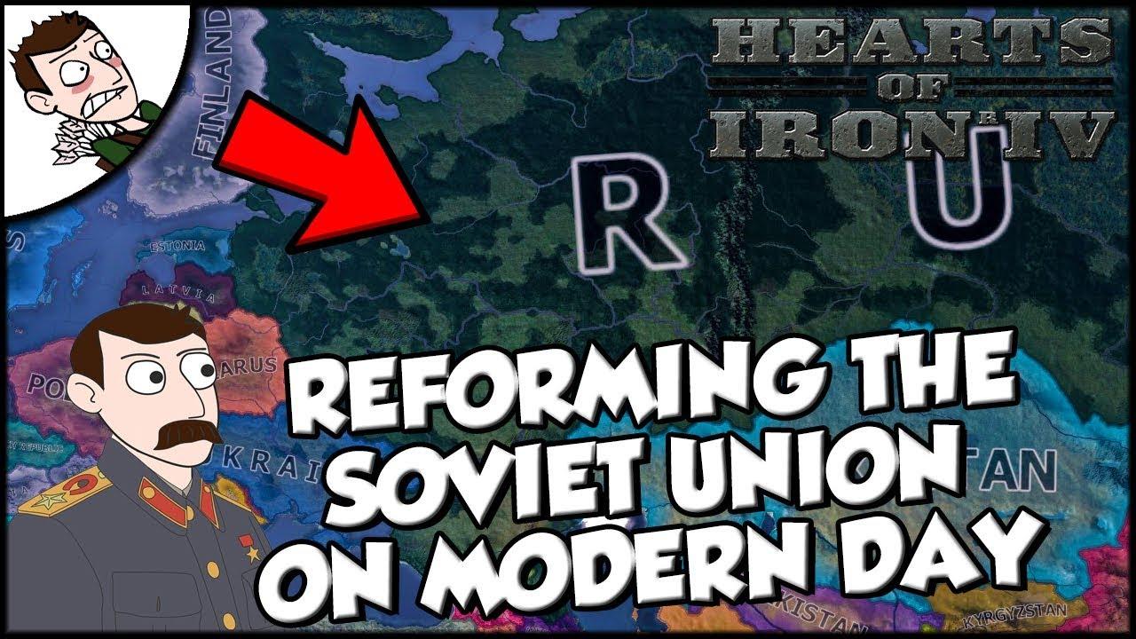 Hearts of Iron 4 HOI4 Soviet Union Returns on the Modern Day Mod