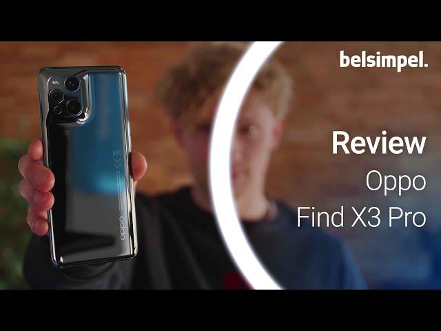 Belsimpel-productvideo voor de Oppo Find X3 Pro Zwart
