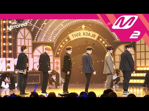 [Mirrored MPD직캠]  슈퍼주니어 거울모드 직캠 'Black Suit' (SUPER JUNIOR FanCam) | @MCOUNTDOWN_2017.11.9