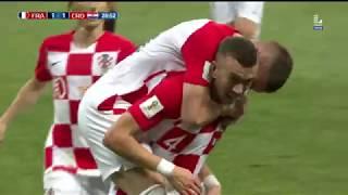 ¡GOLAZO DE CROACIA!   Francia vs Croacia