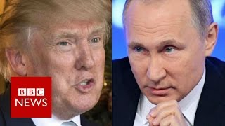 Trump Russia ties: Kremlin says it has no 'compromising' information - BBC News