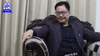 MoS for Home Kiren Rijiju exclusively talks with AIR