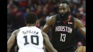 Houston Rockets vs San Antonio Spurs NBA Full Highlights (23RD DECEMBER 2018-19)