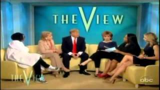 Donald Trump On The View 03/23/2011 Trump  Wants to See Obama's Birth Certificate