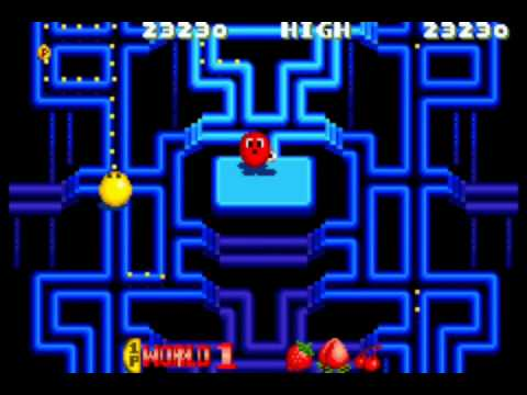 GameNexus Mame Review Pac Man Arrangement (1996 Namco ND-1)