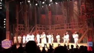 Renée Elise Goldsberry raps for Broadway Cares after Groffsauce's last Hamilton performance