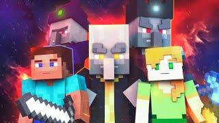 Villager & Pillager life: Season 1 - Minecraft Animation