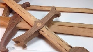 OF COURSE IT IS MADE OF WOOD! ~ Artismia How to make a wooden sword.