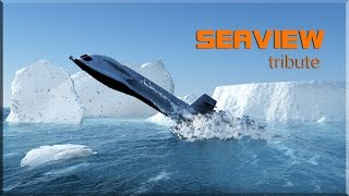 """A tribute to the """"Seaview"""" submarine  (Tv series 60s : """"Voyage of the Bottom of the Sea"""")"""