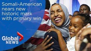 Ilhan Omar wins Minnesota Democratic U.S. House primary