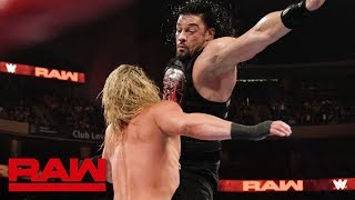 Roman Reigns vs. Dolph Ziggler: Raw, Aug. 19, 2019