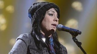 Lucy Spraggan sings Kanye West's Gold Digger - Live Week 2 - The X Factor UK 2012
