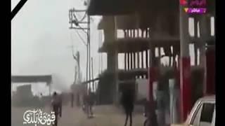 فيديو حصري لحظة تفجير مسجد الروضه بالعريش     -