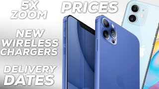 iPhone 12 leaks reveal 5X Zoom, Apple Qi Chargers, Prices, & More!