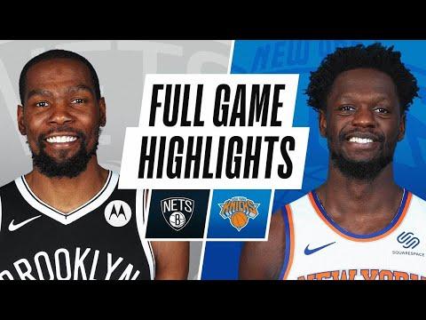 布鲁克林篮网队vs纽约尼克斯队!