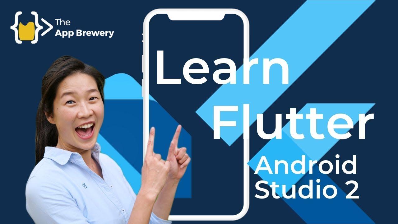 Sava video -Using Android Studio for Flutter Development