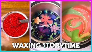 Satisfying Waxing Storytime ✨😲 #112 I Set Up My BF To Cheat On Me