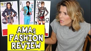 AMAs FASHION REVIEW // Grace Helbig