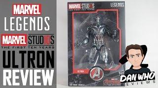 Marvel Legends Ultron Marvel Studios Age Of Ultron Action Figure Review
