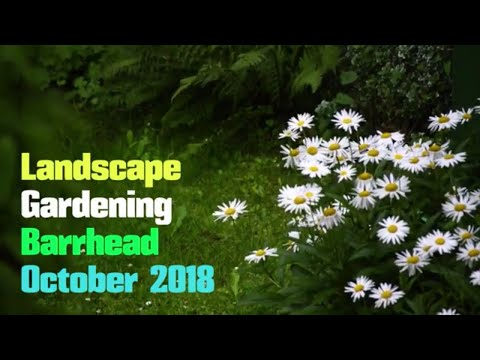 landscape gardening barrhead October 2018