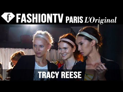 Tracy Reese Spring/Summer 2015 BACKSTAGE | New York Fashion Week NYFW | FashionTV