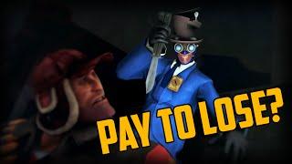 Pro Gibus Spy! Pay To Lose TF2? Newbie Trickstabs.