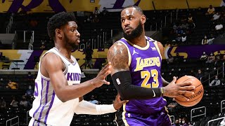 Kings Spoil LeBron's Return From Injury! 2020-21 NBA Season