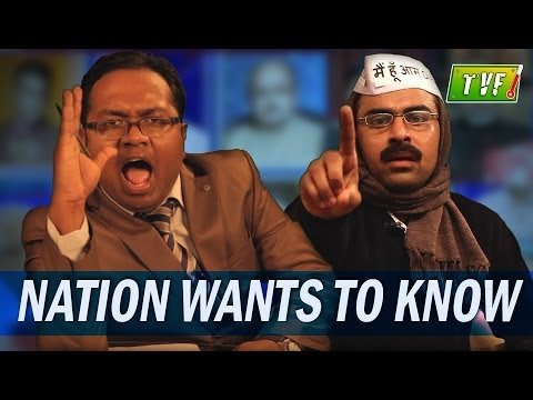 The Best Fun Video on Kejriwal, Meenakshi Lekhi,  Arnab and others
