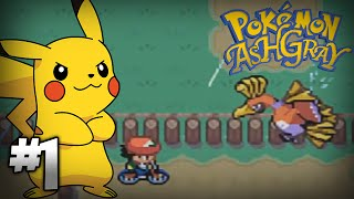 Let's Play Pokemon: Ash Gray - Part 1 - I should've set an alarm!