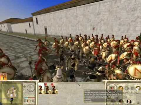 Rome Total War- Hoplitas Espartanos vs Ejército Persa