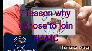 7 Reasons why I chose to join North American Motor Club (NAMC) Review 2019
