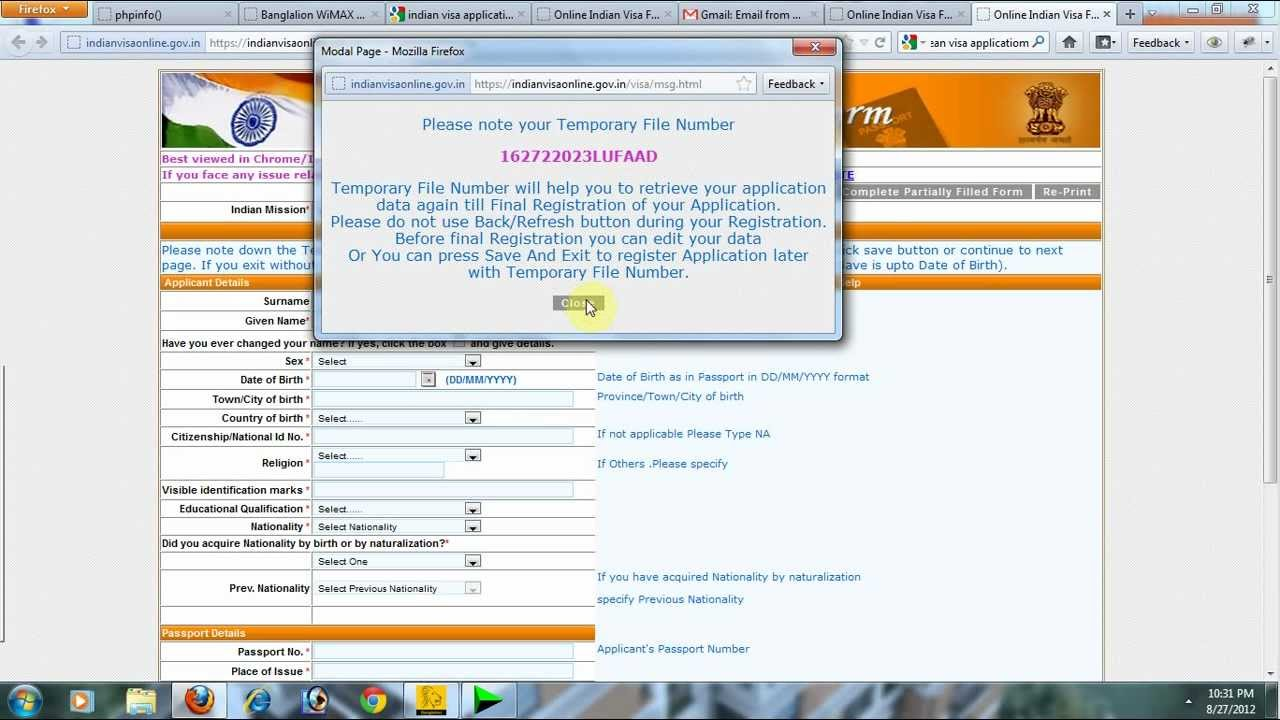 maxresdefault Visa Application Form For Dish From India on