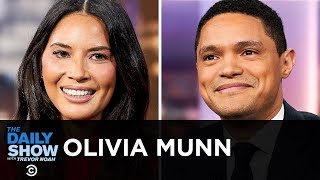 """Olivia Munn - Tackling Another Superhuman Role in """"The Rook""""   The Daily Show"""