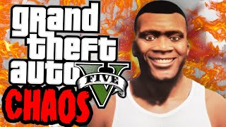 GTA 5 chaos mod is absolute CHAOS