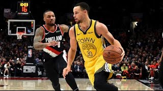 NBA Full Game Recap: Warriors vs. Blazers Highlights | Damian Lillard Drops 29 Points | 2.13.2019