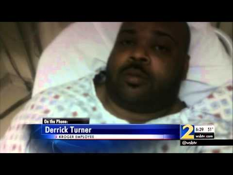 Atlanta Kroger Employee Stabbed Confronting Accused Shoplifter