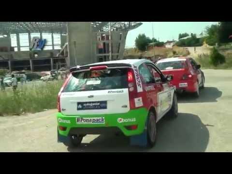 2013 Oyak Renault Yeşil Bursa Rallisi Burcu Burkut Erenkul Şeyma Yağız Ford Fiesta ST