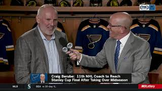 Doug Armstrong after Blues head to Stanley Cup: 'I'm proud of them, excited for them'
