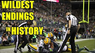 Wildest Endings in Sports | Plays that will Likely Never Happen Again