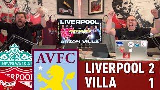 Salah & Trent Goals Beat Villa!   Liverpool 2-1 Aston Villa   Liverpool Fan Goal Reactions
