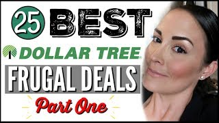 💵 25 DOLLAR TREE FRUGAL HAUL, FINDS + DEALS 💚 DOLLAR TREE SHOP WITH ME 2019 ● MUST HAVES PART 1